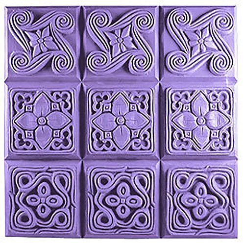 soap mold with pattern