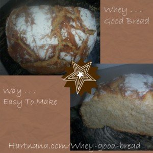 whey good bread recipe