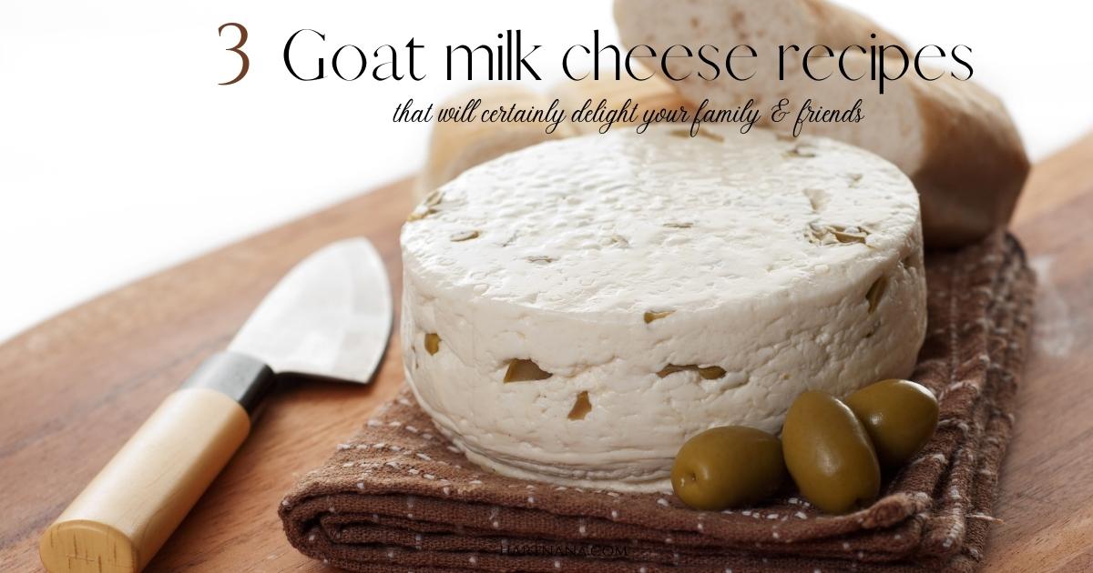 Goat Milk Cheese Recipes